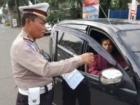 Operasi Penindakan Terhadap Pengendara Taxi Mangkal Disembarang Tempat