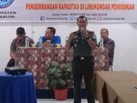Dandim 0607/Kota Sukabumi, Sampaikan Materi Proxy War Pada Kegiatan P4GN