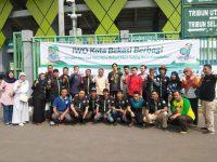 HUT IWO Kota Bekasi, Helat Pengobatan Gratis dan SIM Keliling di Area CFD