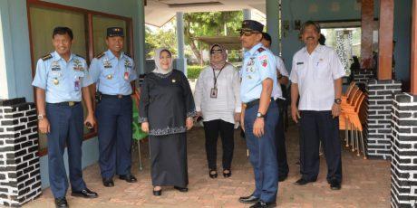 Bupati Bogor Tinjau Kesiapan Venue PORDA XIII Jawa Barat di Lanud Atang Sendjaja