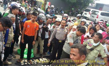 Penemuan Sesosok Mayat Tergeletak di Pintu Masuk Pom Bensin Veteran Kota Bogor