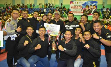 Kontingen Taekwondo Polda Jabar Raih Juara Umum 1 Kategori TNI-Polri di Ajang Taekwondo Kapolri CUP 2018