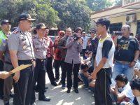 Polsek Gunung Putri Berhasil Cegah Sekelompok Pelajar Diduga Hendak Melakukan Tawuran