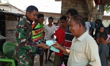 Pengobatan Keliling Timkes Satgas Yonif Para Raider 431 Kostrad di Biromaru, Sigi Sulteng