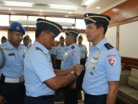 Pangkoopsau I Marsda TNI Nanang Santoso Pimpin Sertijab Kepala Staf Koopsau I