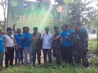 Kodim 0622/Kab. Sukabumi Lakukan Penghijauan di Taman Nasional Gunung Halimun Salak