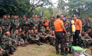 Simulasi Gabungan Penanggulangan Bencana Alam Digelar di Wilayah Korem 061/Sk
