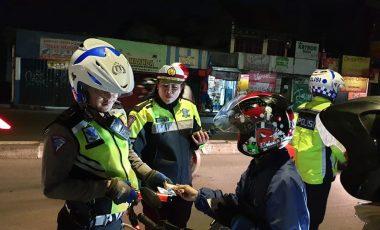 Sat Lantas Polresta Bogor Kota Gelar Operasi Cipta Kondisi
