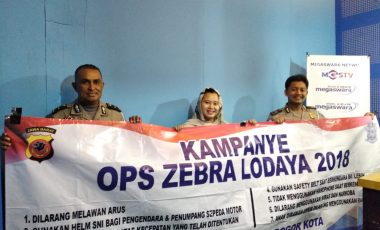 Sat Lantas Polresta Bogor Kota Kampanyekan Tertib Berlalu Lintas Operasi Zebra Lodaya 2018