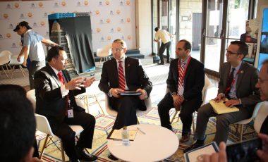 Kapolri Melaksanakan Pembicaraan Bilateral Dengan Wakil Jaksa Agung AS