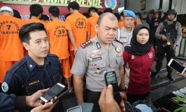 Dalam Rangka Operasi Antik Lodaya 2018, Polres Bogor Berhasil Ungkap Kasus Lahgun Narkotika