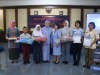 Kunjungan Kerja Ketua PIA Ardhya Garini Daerah I Koopsau I di Lanud Atang Sendjaja