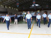 Pangkoopsau I Marsekal Muda TNI Fajdar Prasetyo Kunjungi Lanud Atang Sendjaya Bogor