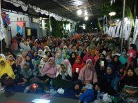Ribuan Jamaah Hadiri Tabligh Akbar Bersama Ustadz Felix Siauw di Masjid Nurussalam Villa Ciomas Bogor