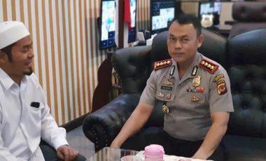 Silaturahmi Kapolresta Bogor Kota Dengan Ketua DMI Kota Bogor