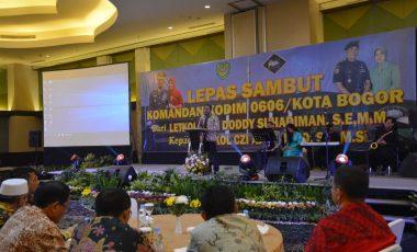 Pesan Danrem 061/Sk di Acara Sertijab Kodim 0606/Kota Bogor