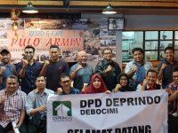 DPD Deprindo Debocimi Gelar Rakerda di Resto & Cafe Pulo Armin Kota Bogor