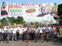 Giat Road Safey Milenial Festival Polres Bandung, Diikuti Ribuan Bikers dan Gowes Milenial
