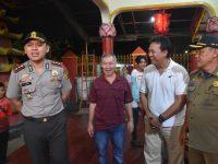 Kapolres Bogor Cek Langsung Pengamanan Malam Perayaan Tahun Baru Imlek 2019