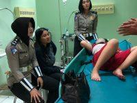 Trauma Healing Diberikan Sat Lantas Polres Bandung Kepada Korban Laka Lantas