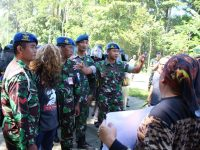 Lanud J.B. Soedirman Menggelar Latihan Pengamanan Pemilu Pileg dan Pilpres Tahun 2019