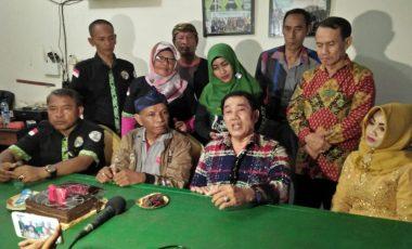 Adik Raja Dangdut Sambangi IWO Kota Bekasi Pada Peringatan HPN 2019