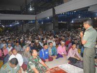 Jalin Sinergitas, Danrem 061/Suryakancana Silaturahmi ke Ponpes Ummul Quro Leuwiliang
