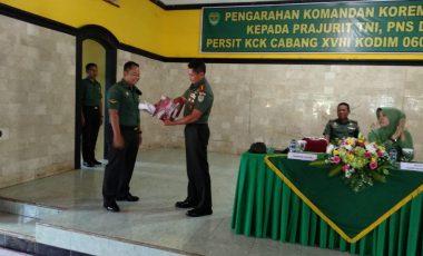 Danrem 061/Sk Berikan Reward Kepada Serda Basuni Priatna Babinsa Tanjungsari Kodim 0608/Cianjur