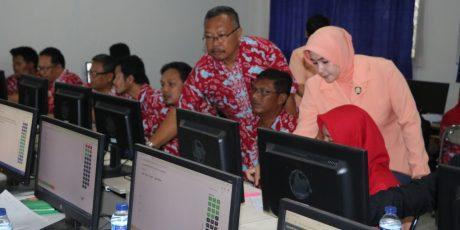 Yasarini Cabang Lanud Atang Sendjaja Laksanakan Ujian Kompetensi Guru