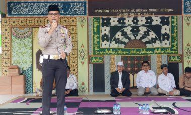 Sat Lantas Polres Bogor Gandeng Pondok Pesantren Gelorakan Millennial Road Safety Festival