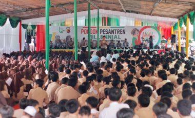 Sosialisasikan MRSF, Sat Lantas Polresta Bogor Kota Gandeng Ponpes Al-Ghazali dan PKG Kota Bogor
