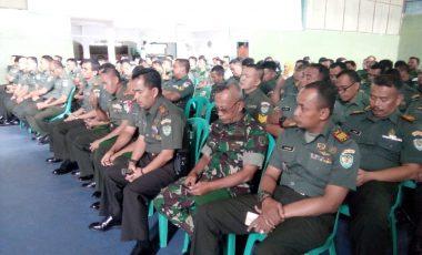 Tim Kumdam III/Siliwangi Berikan Penyuluhan Hukum di Kodim 0607/Kota Sukabumi