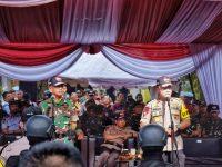 Danrem 061/SK Dampingi Pangdam III/Siliwangi di Kegiatan Apel Gelar Pasukan Dalam Rangka PAM Pemilu 2019 di Wilayah Bogor