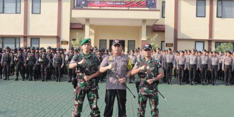 1500 Personel Gabungan TNI-Polri Siap Amankan Pemilu Serentak 2019 di Kota Bogor