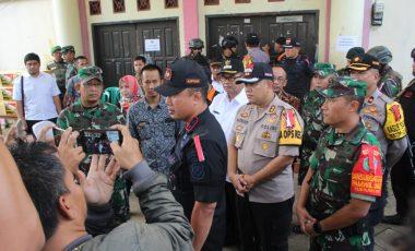 Kunjungi Sejumlah PPK di Wilayah Sukabumi, Pangdam III/Siliwangi Pastikan Kotak Suara Aman