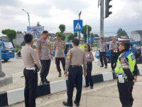 Kapolres Bogor Pantau Kesiapan Jalur Mudik Bocimi