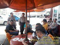Antisipasi Massa ke Jakarta Polresta Bogor Kota Lakukan Penyekatan di 3 Titik Lokasi