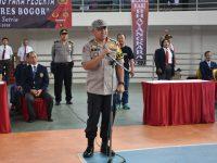 Open Karate Championship Rebut Piala Kapolres Bogor dalam Rangkaian HUT Bhayangkara ke-73