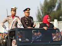 Upacara HUT Bhayangkara ke 73, Bupati Apresiasi Kinerja Polres Bogor