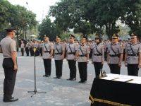Pimpin Upacara Sertijab Sejumlah Kapolsek, Ini Pesan dan Amanat Kapolres Bogor
