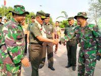 Kunjungan Tim Wasev Mabes TNI di Lokasi TMMD 106 Kodim 0621/Kabupaten Bogor