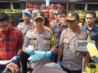 Tukang Oplos Gas Elpiji Bersubsidi di Rumpin Diringkus Sat Reskrim Polres Bogor