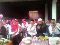 Kampanye Terbuka Cakades Cimanggis No 1 Nining Yuningsih Dipadati Ribuan Simpatisan