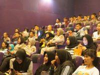 Polres Bogor Gelar Nobar Film 'Hanya Manusia' di Bioskop Platinum Cineplex Cibinong Square