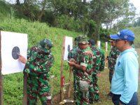 Asah Akurasi, Danlanud Atang Sendjaja beserta Para Perwira Latihan Menembak