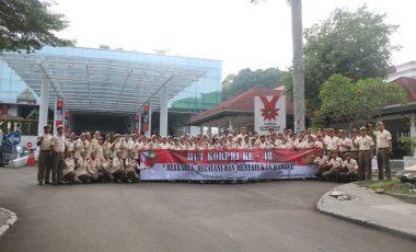 Peringati HUT ke-48, Korpri Lanud Atang Sendjaja Sambangi Museum Kepresidenan RI Balai Kirti