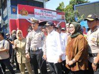 Jelang Pergantian Tahun 2019, Menhub RI dan Bupati Bogor Kunjungi Pos Pelayanan Gadog