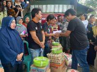 Peduli Terhadap Korban Kebakaran, Andi Farid Kaswadi Beri Bantuan