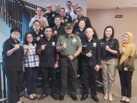 Dandim 0606/Kota Bogor Bersilaturahmi dengan IHGMA Chapter Bogor Raya