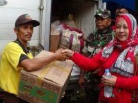 Relawan MPB Bersama YDY Kunjungi Pengungsi Korban Bencana dan Berikan Bantuan